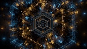 Preview wallpaper fractal, geometry, shapes, lines, abstraction
