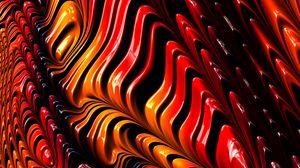 Preview wallpaper fractal, graphics, shapes