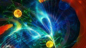 Preview wallpaper fractal, imagination, colorful, smoke