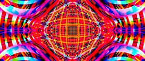 Preview wallpaper fractal, lines, kaleidoscope, colorful, abstraction