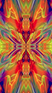 Preview wallpaper fractal, pattern, abstraction, colorful, bright