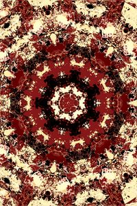 Preview wallpaper fractal, pattern, brown, abstraction
