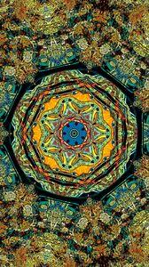 Preview wallpaper fractal, pattern, kaleidoscope, abstraction