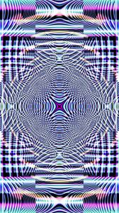 Preview wallpaper fractal, pattern, lines, abstraction, purple