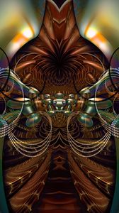 Preview wallpaper fractal, pattern, volume, abstraction