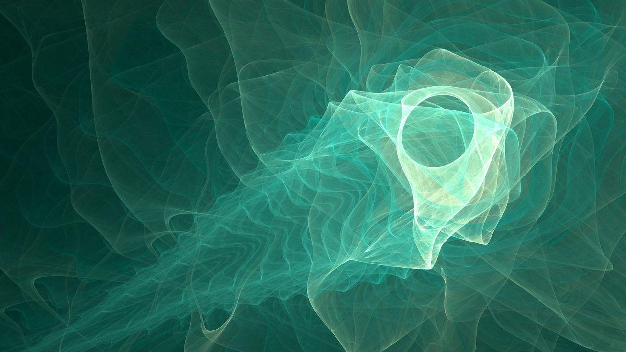 Wallpaper fractal, shape, smoke, bone, ribbed