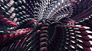 Preview wallpaper fractal, shapes, 3d