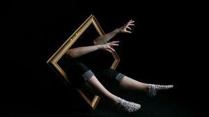 Preview wallpaper frame, hands, human, leg, improvisation, imagination, surrealism