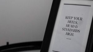 Preview wallpaper frame, inscription, motivation, text, words, bw