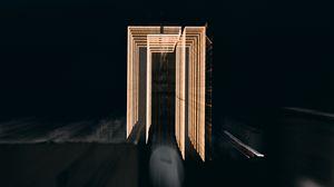 Preview wallpaper frame, light, long exposure, freezelight, dark