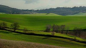 Preview wallpaper france, hills, field, grass