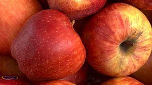 Preview wallpaper apples, fruit, fresh, ripe, red