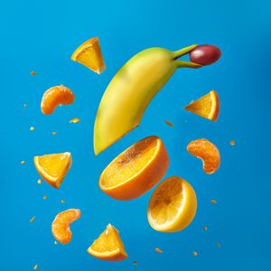 Preview wallpaper fruit, slices, fresh, juicy, bright