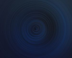 Preview wallpaper funnel, circles, abstraction, blue, dark