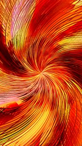 Preview wallpaper funnel, lines, abstraction, orange