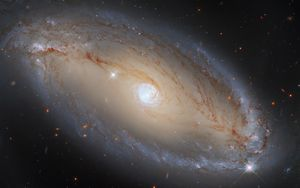 Preview wallpaper galaxy, glow, nebula, stars, space