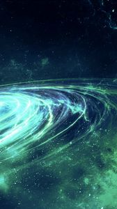Preview wallpaper galaxy, glow, spiral, stars, space