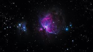 Preview wallpaper galaxy, stars, glitter, night sky