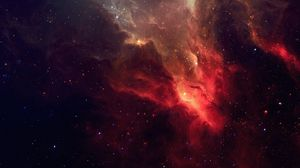 Preview wallpaper galaxy, stars, light, nebula