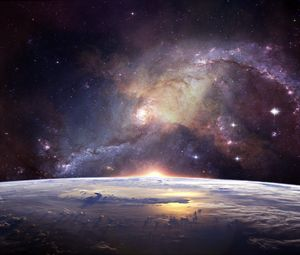 Preview wallpaper galaxy, universe, stars, space