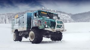 Preview wallpaper gaz 66, off road, tuning, airbrush