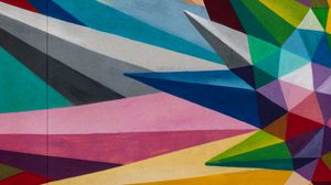 Preview wallpaper geometry, colorful, fragments, abstraction