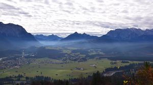 Preview wallpaper germany, bavaria, zugspitze, mountain