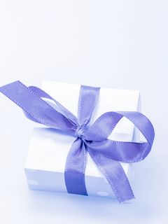 240x320 Wallpaper gift, box, bow, packing