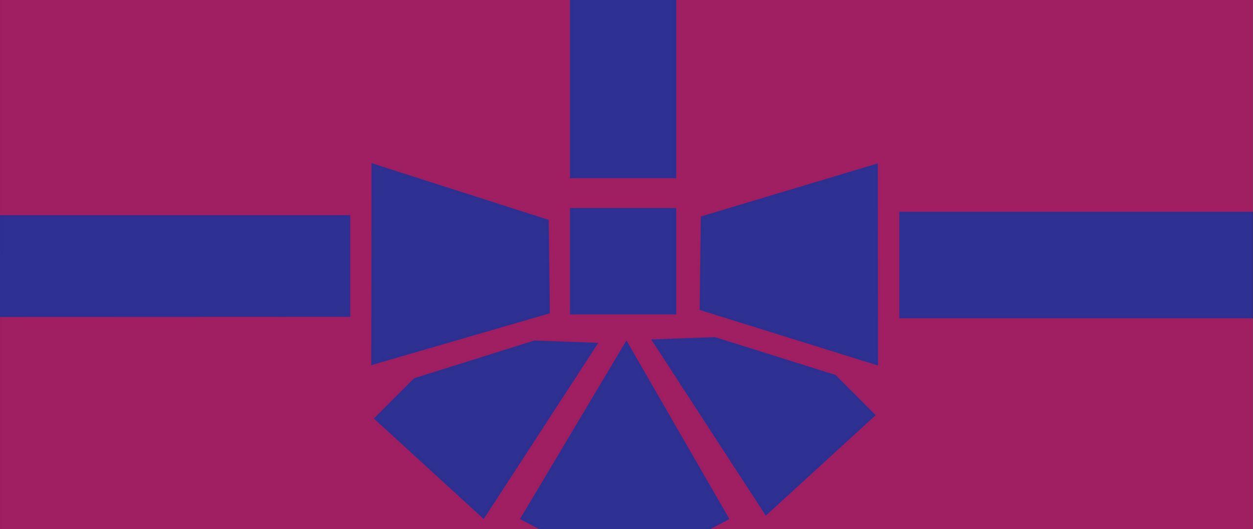 2560x1080 Wallpaper gift, box, ribbon, bow, minimalism, vector