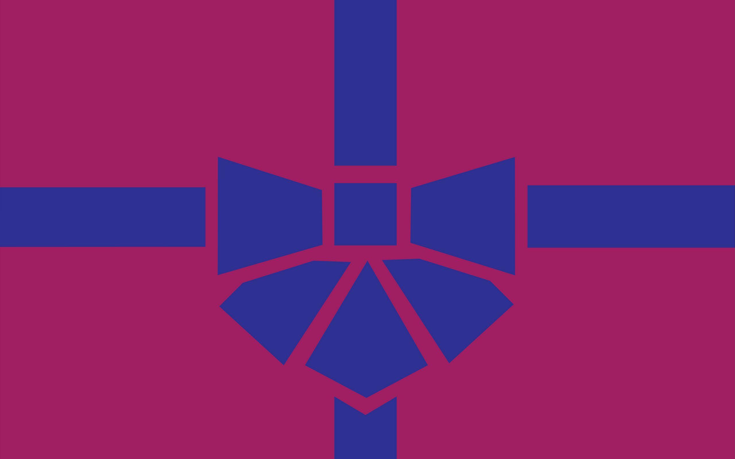2560x1600 Wallpaper gift, box, ribbon, bow, minimalism, vector
