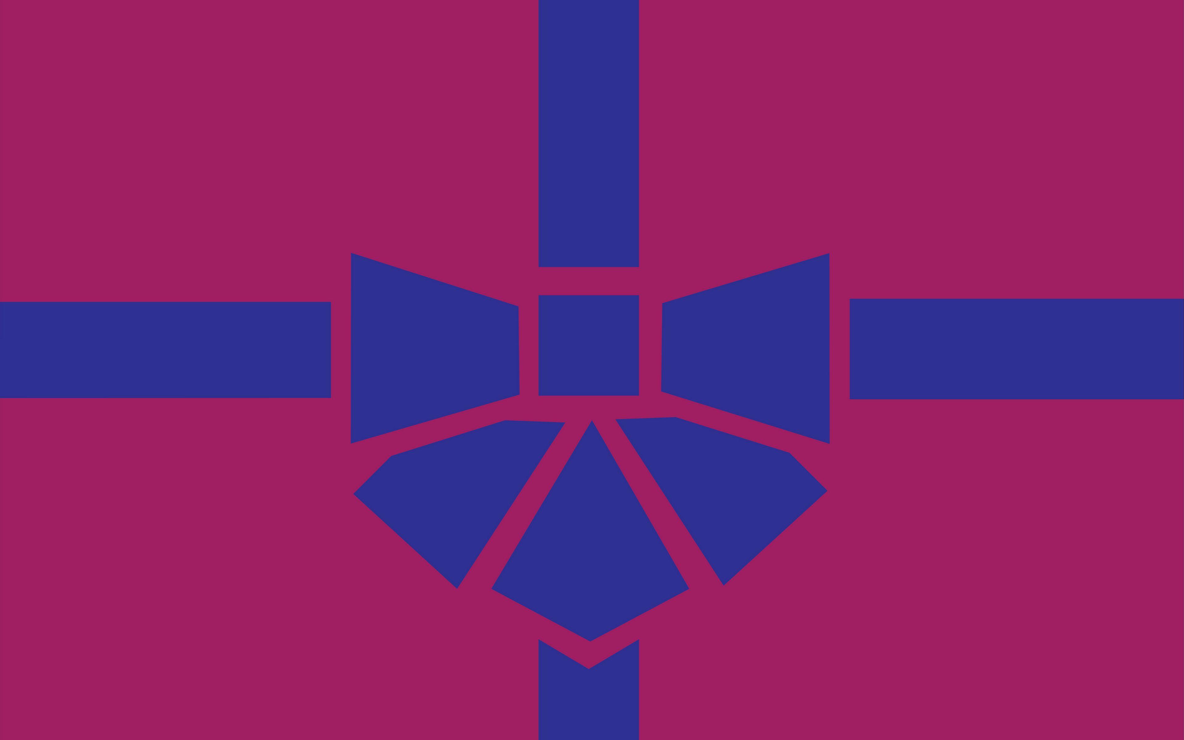 3840x2400 Wallpaper gift, box, ribbon, bow, minimalism, vector