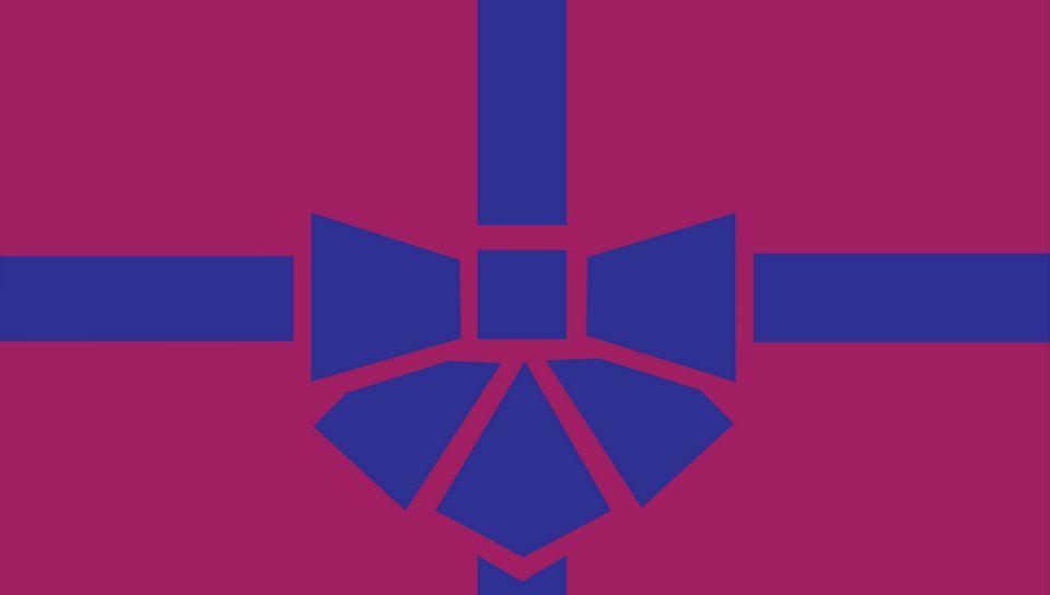 960x544 Wallpaper gift, box, ribbon, bow, minimalism, vector