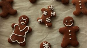 Preview wallpaper gingerbread, cookies, cooking, new year, christmas