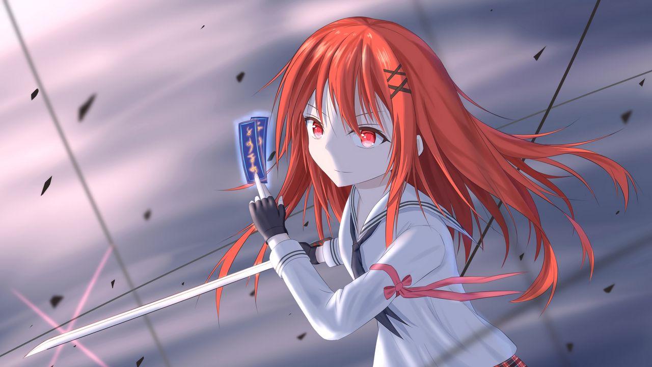 Wallpapergirl,cards,anime,art高清壁纸免费下载