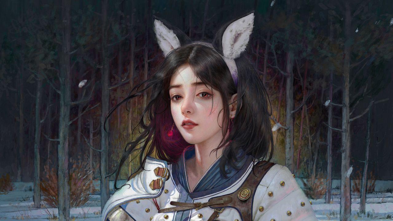 Wallpapergirl,warrior,armor,anime,art高清壁纸免费下载