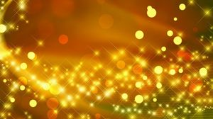 Preview wallpaper glare, gold, shiny, bright, circles