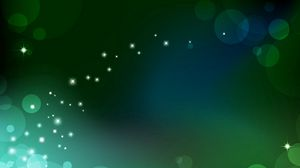 Preview wallpaper glare, light, green, abstract