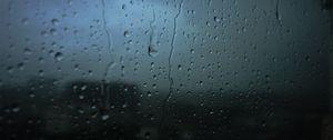 Preview wallpaper glass, drops, blur, moisture, surface