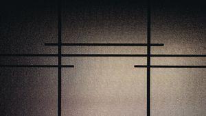 Preview wallpaper glass, stripes, dark
