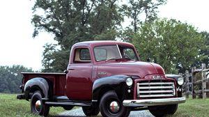 Preview wallpaper gmc, pickup, 1949 gmc, 1950, classic