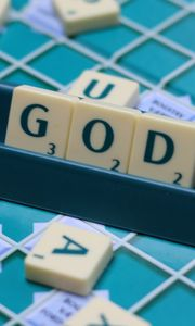 Preview wallpaper god, religion, word, cubes