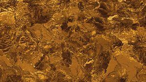 Preview wallpaper gold, liquid, texture