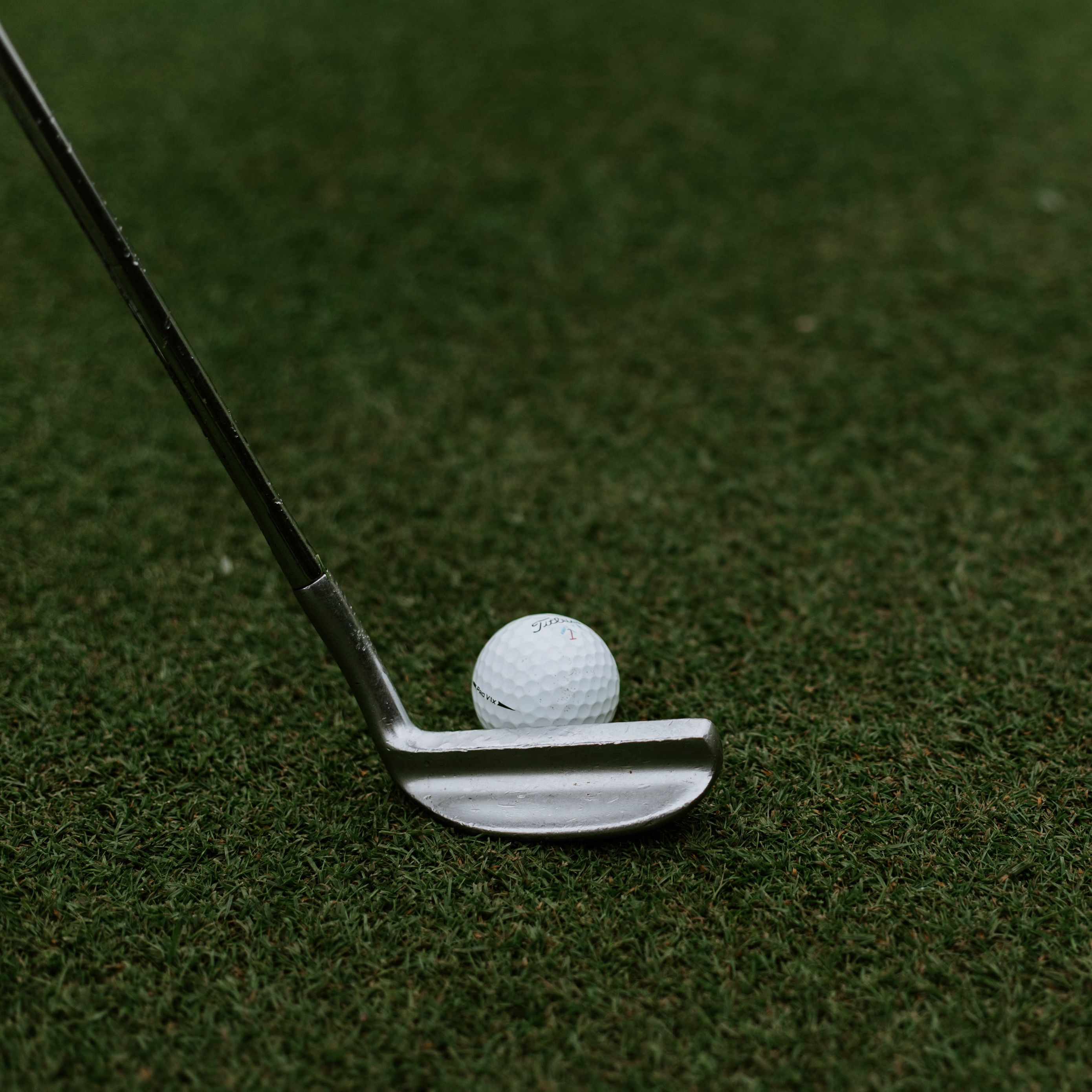 2780x2780 Wallpaper golf, ball, club