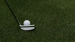 Preview wallpaper golf, ball, club
