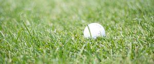 Preview wallpaper golf, ball, grass, sport