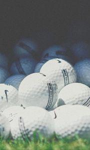 Preview wallpaper golf, balls, nike