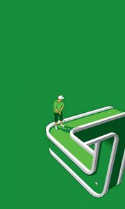 Preview wallpaper golf, game, well