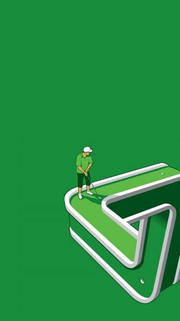 360x640 Wallpaper golf, game, well