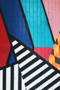 Preview wallpaper graffiti, art, stripes, colorful