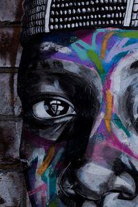Preview wallpaper graffiti, eyes, art, street art